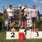 Canicross Latvian Championship Born to Win Warrior Tyson