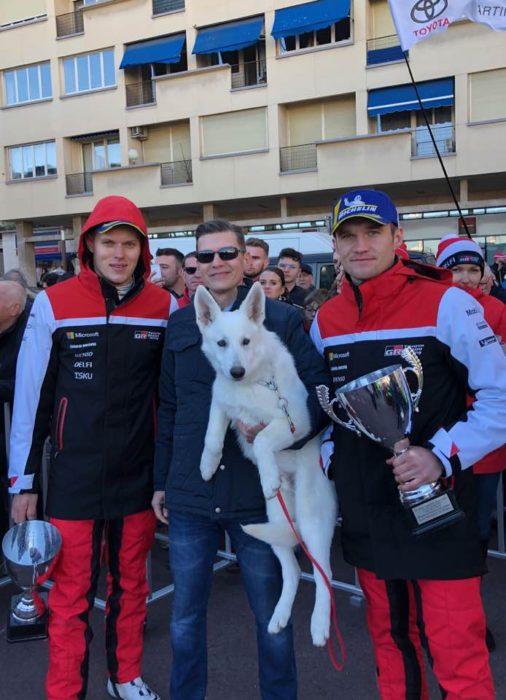 BTWW Che Guevara congratulates WRC Toyota Team stars Ott Tänak and Martin Järveoja on WRC Finland Rally Neste win ! 30