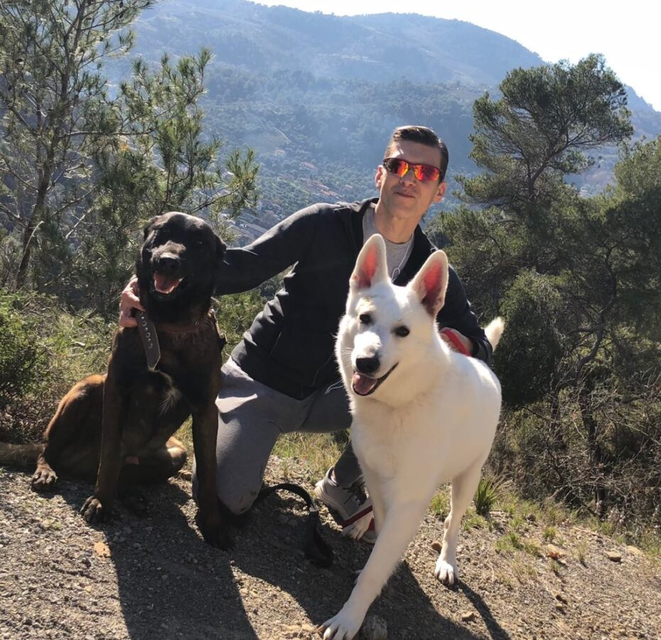 Sport and Dogs morning run with BTWW Wahlman and BTWW Alexander ! 9