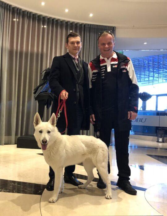 Tommi Makinen Racing Monte Carlo Rally White Dog Mascot BTWW Che Guevara Monaco